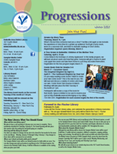 picture of front page of the winter 2020 newsletter